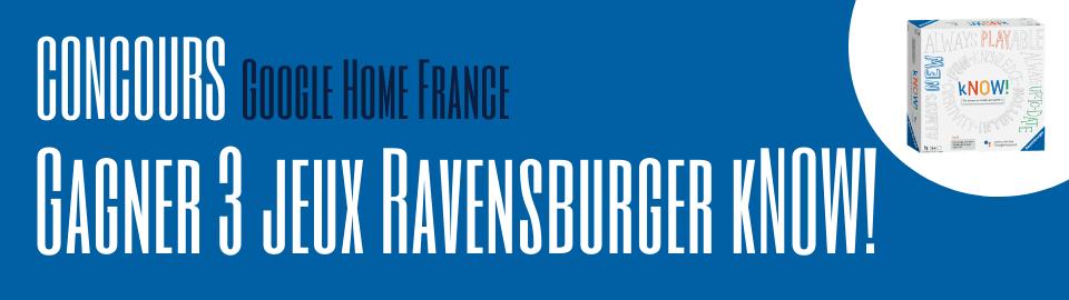 Gagner 3 jeux Ravensburger kNOW!