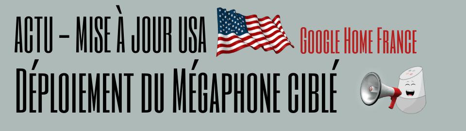 Déploiement du mégaphone ciblé