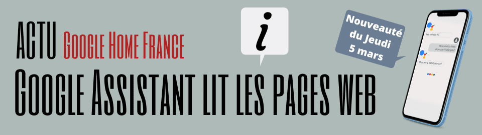 Ok Google ! Read this page (lis cette page)