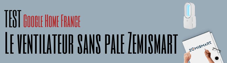 Le ventilateur sans pale Zemismart
