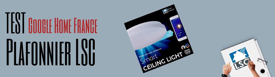 Plafonnier LSC Smart Connect, nouveau modèle RGB