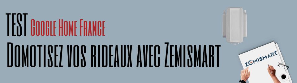 Test : Zemismart Smart Curtain Motor
